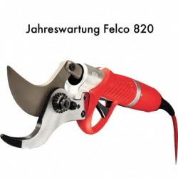 Felco 820 Jahreswartung