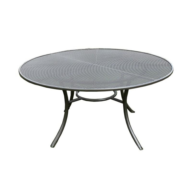 Gartentisch rund  Gartentisch rund, Streckmetall, D: 150cm
