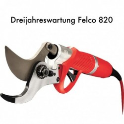 Felco 820 Dreijahreswartung